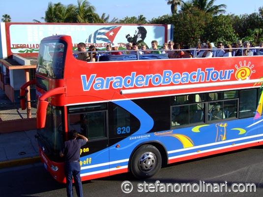 Varadero туристический автобус Beach Tour - Варадеро - Куба