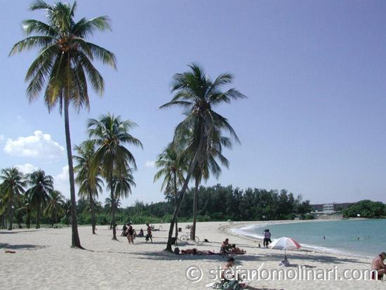 Playa Bacuranao Strand - Playas del Este - Kuba