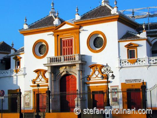 Plaza de Toros - Sevilla - Spanien