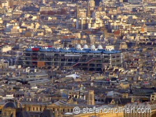 Pompidou Museum - Paris - Frankreich