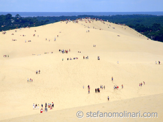 The Great Dune of Pyla - Pyla - Arcachon - Bordeaux - France