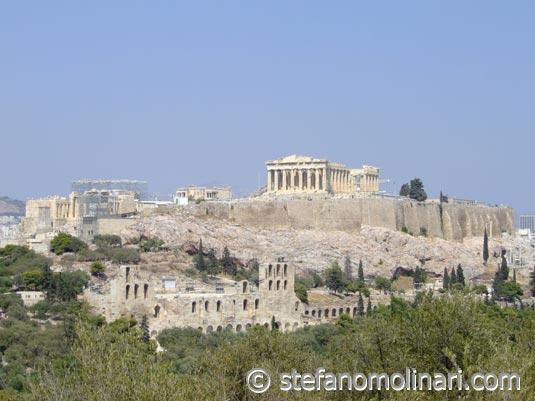 Akropolis - Parthenon - Athen - Griechenland