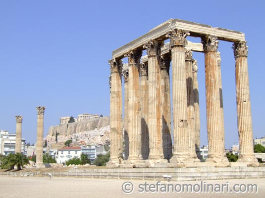 zeus. Athens+temple+of+zeus
