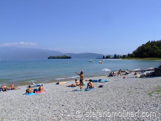 Beach San Felice - Gardasee - Italien