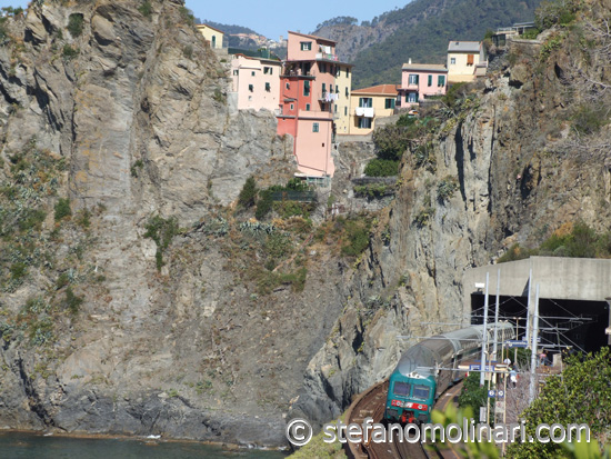 Trains Transport - Cinque Terre - Italien