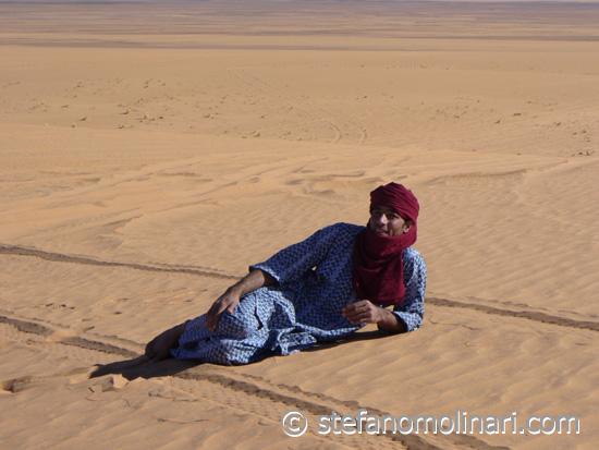 Beduinen und Dromedar - Tadrart Acacus - Libyen