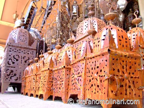Marokkanische Handwerk - Marrakesch - Marokko