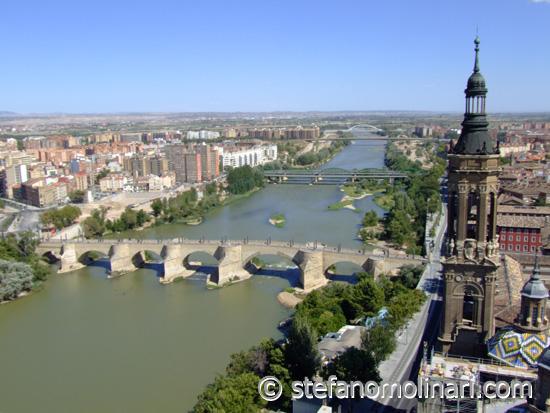 Ebro River - Zaragoza - Spain