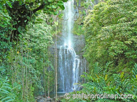 Waterfalls 7 Sacred Pools - Hana - Hawaii Maui - USA