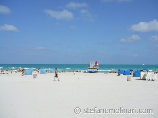 Strand von Miami Beach - Miami - USA